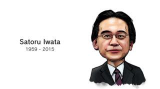 岩田社長のイラスト
